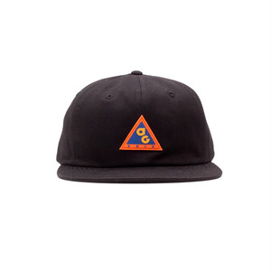 AG CONDITIONS TWILL 6 PANEL CAP (BLACK)