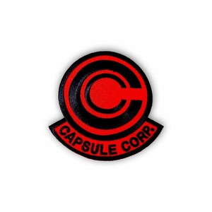 """OTHER WORLD""""Capsule Corp (Red Dragon) patch"""""""