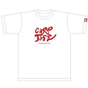 コピー:CARPJAZZ オリジナルTシャツ ロゴ/白地