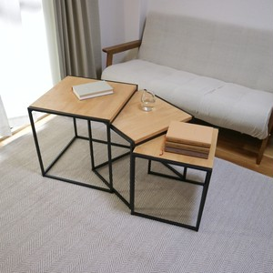 Square stacking table