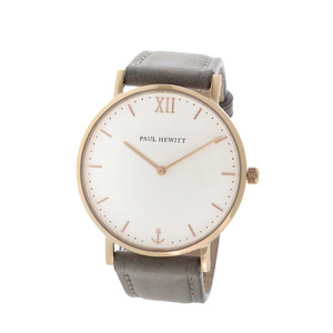 ポールヒューイット Sailor Line 36mm ユニセックス 腕時計 6451714 PHSARSMW13S ホワイト/グレー ホワイト