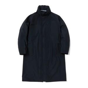 GORE-TEX STAND COLLAR COAT-BLACK