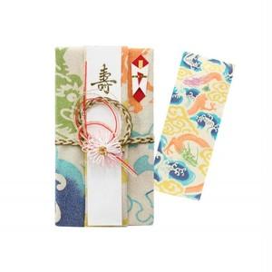 手拭い祝儀袋 雲海に龍(金糸) 花 sftek015-1706