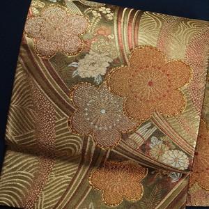 華やか袋帯 正絹袋帯【0864】