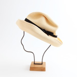mature ha./BOXED HAT 101 natural×black