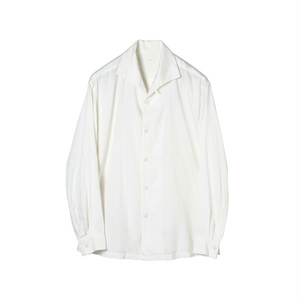 SOWBOW SHIRT -A    (ONE PEACE COLLAR) WHITE