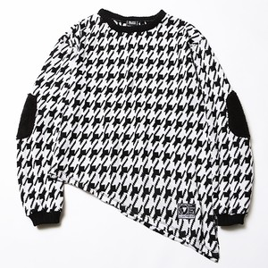 GHOST -Asymmetry Knit Sweater-