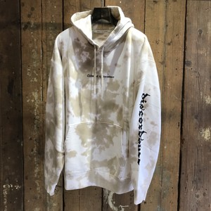 Children of the discordance / HAND DYEING & LOGO PRINT HOODIE B