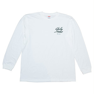 Chilly Source Logo Long Tee 【White】