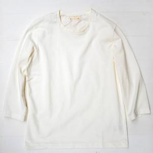 【キャッチャーTシャツ7分袖】オフホワイト / CATCHER 3/4-SHIRT 80 / CT160019