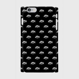(通販限定)【送料無料】iPhone6Plus/6sPlus_スマホケース モノグラム_ブラック