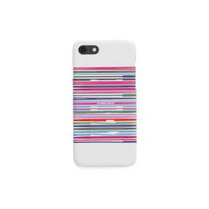 iPhone7 case【BARCODE】- WHITE