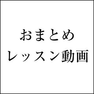 おまとめ動画レッスン 組み合わせ自由 (税込)