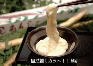 【送料無料】自然薯約1.5kg(お得!カット物)ギフト可