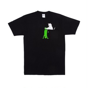 RIPNDIP - Break Yo Self Pocket Tee (Black)