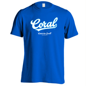 CORAL Tシャツ2018:ロイヤルブルー