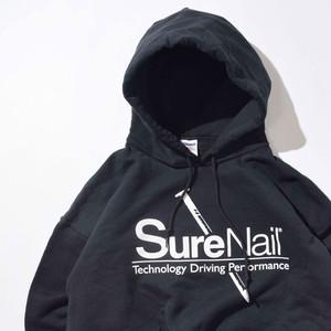 【XLサイズ】SureNail シュアネイル Hoodie フーディー BLK ブラック XL 400605191008