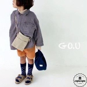 «sold out» go.u check shirt 2colors チェックシャツ