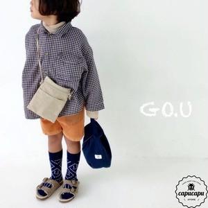 «予約» go.u check shirt 2colors チェックシャツ