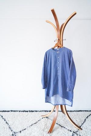 "【1970-80s】""Germany Fisherman"" Euro Vintage Grandpa Shirts / v459"
