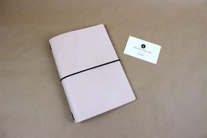 JAPAN LANSUI DESIGN 名入れ対応 ヌメ革手作りノートカバー A5サイズ対応 品番JD9861JDU84333