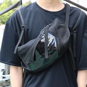 2 ZIP Waste Bag / BLACK