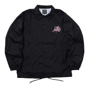FREAKY FREAKS COACHES JACKET (BLACK)[TH8A-051]