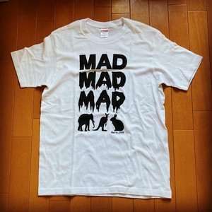 MAD ANIMAL T-Sirts Black print on white