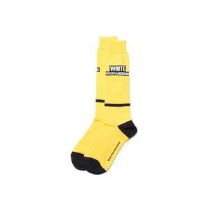 WM BOX LOGO FOOTBALL SOCKS-YELLOW