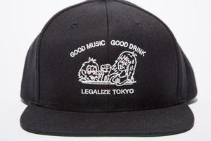GOOD MUSIC & GOOD DRINK SNAP BACK CAP