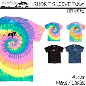 SHORT SLEEVE Tiedye Tshirt moose as-08