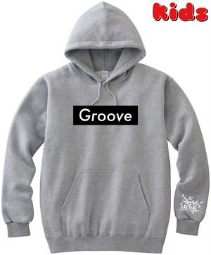 Groove KidsP(GRAY) Black Box Logo ※首紐無し