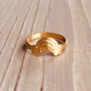 Rainbow pinky ring   Silver / Gold