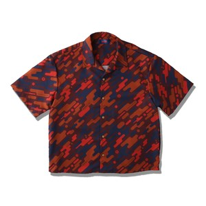 FUTURE CAMO SHIRTS / ORANGE