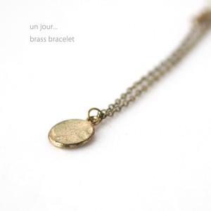 真鍮 ブレスレッド ゴールドB 58010016-01
