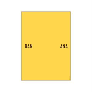 【送料無料対象】PLTY - Poster - BANANA SPLIT(A3サイズ)