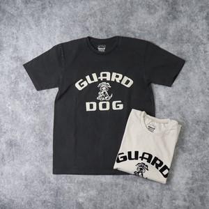 """【Mixta】S/S """" GUARD DOG"""" T-SHIRT (2色) MADE IN USA アメリカ製 Tシャツ 半袖 プリントT ハンドプリント"""