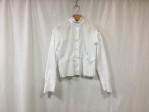 """Women's semoh""""standcollar shirt white"""""""