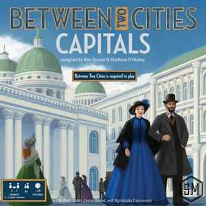 Between Two Cities: Capitals(2つの街の物語:拡張) 英語版・和訳説明書付き