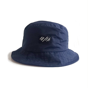 scar /////// BLOOD NYLON BUCKET HAT (Navy)