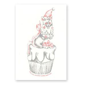 christmas card イチゴ☆ねこ☆クリーム