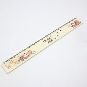 【柴犬・ANIMALS WEEK】スリム17cm定規 【柴犬 64971】