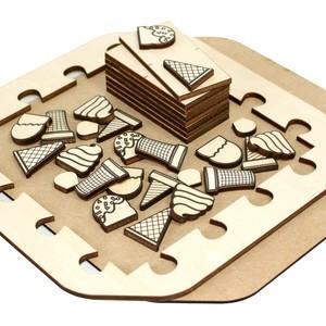 パズル工作キット・ソフトクリーム