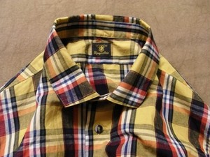 classic check shirt / yellowcheck