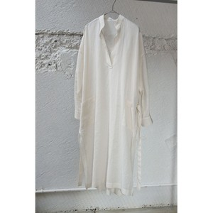 【DOMENICO+SAVIO】COTTON VOIL SHEER DRESS