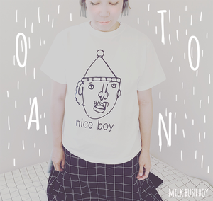 OTONA T nice boy ホワイト