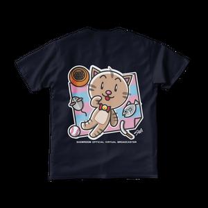 <ネイビーTシャツ 両面>レジャーみーちゃん