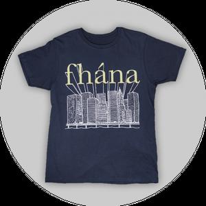 「Swinging City」Tシャツ(ネイビー)