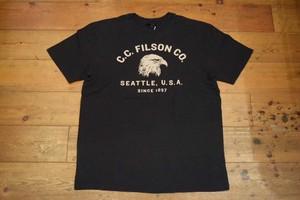 USED USA製 フィルソン Tシャツ M ブラック