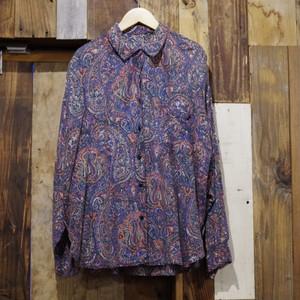Paisley pattern Rayon Shirt / ペイズリー シャツ